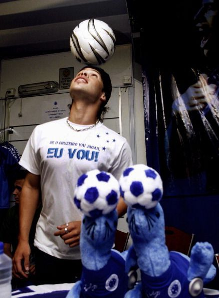 Brazilian footballer Kerlon, from the te