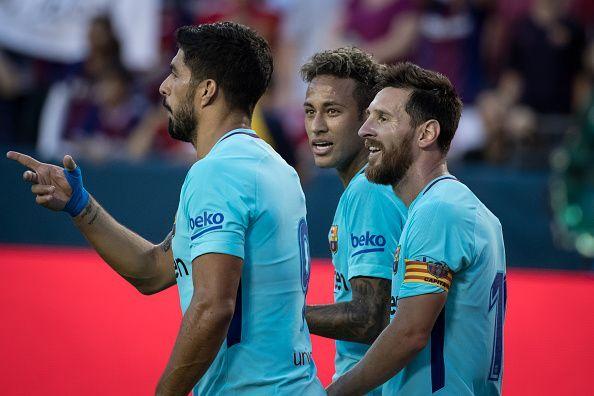International Champions Cup match FC Barcelona v Manchester United