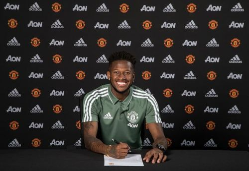 Manchester United Unveil New Signing Fred
