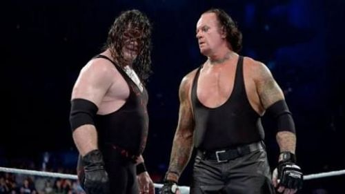 The Undertaker and Kane go way back
