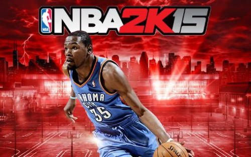 Kevin Durant on the cover of 2K15