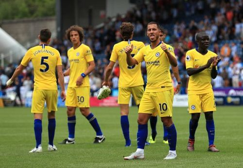 Chelsea cruised to a comfortable win in their opening fixture