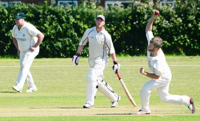 Jay Darrell was denied a maiden century in a local club cricket match