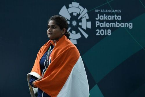 Rahi Sarnobat became the first Indian woman to win Asiad Gold in Shooting