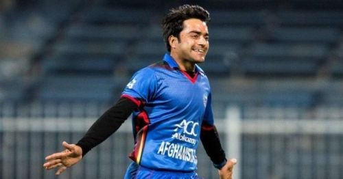 One more 'Player of the series' award for Rashid Khan.