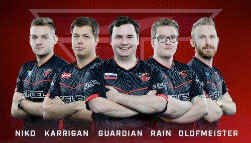 Faze clan started in CSGO by signing the former roster of G2 Esports.