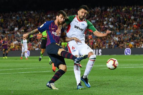 Barcelona's league opener Against Alavés