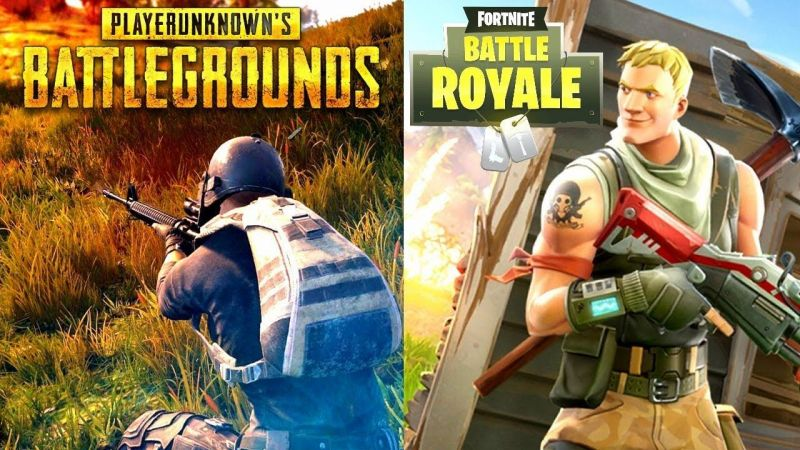 player unkown battlegrounds and fortnite have been fighting for the top spot since their release - fortnite vs battlegrounds