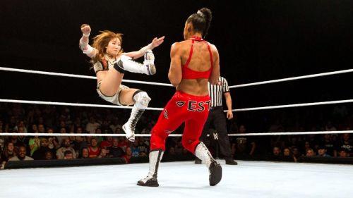 Kairi Sane vs. Bianca Belair TakeOver