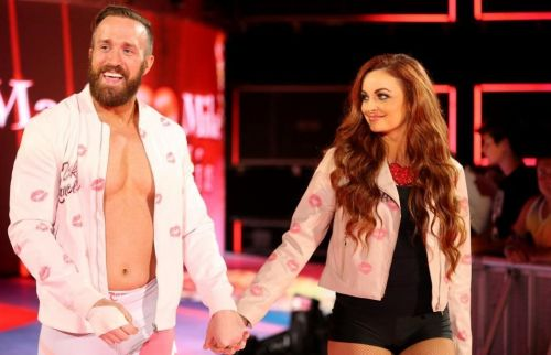 Maria Kanellis (right) has been training at the WWE Performance Center for an in-ring comeback