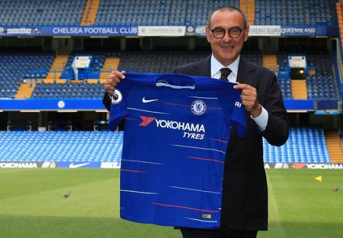 Chelsea Unveil New Head Coach Maurizio Sarri...