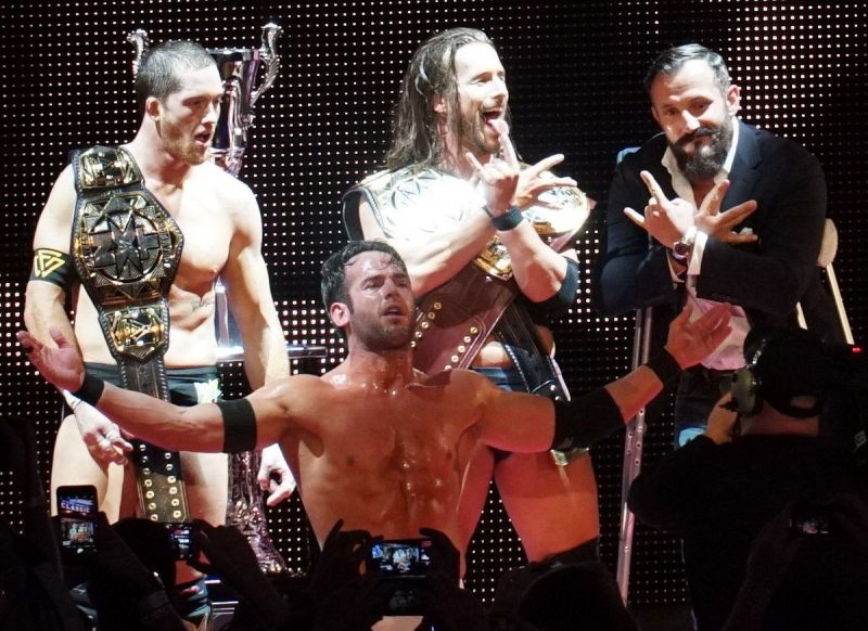 The Undisputed Era is made up of Adam Cole, Kyle O