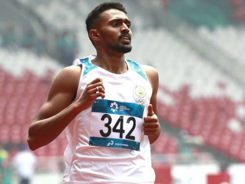 Asian Games 2018 : Can the Navy sprinter Anas end the golden drought of 52 years?