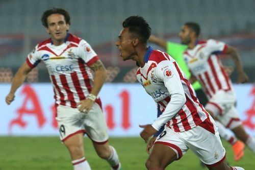 Singh scored against his future employers Mumbai City, while playing for ATK.