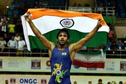 Bajrang Punia brought India's first Gold medal of the 2018 Asian Games