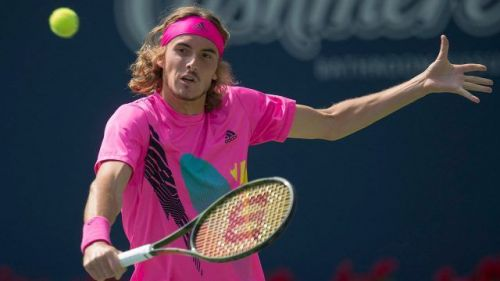 Image result for tsitsipas rogers cup 2018