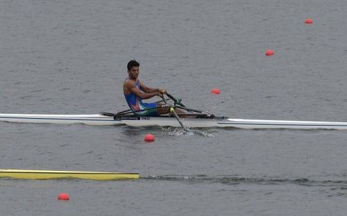 Rower Dushyant opened the account for India with a bronze