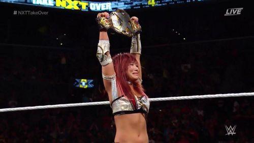 Kairi Sane is the new leader of the women's locker room in NXT