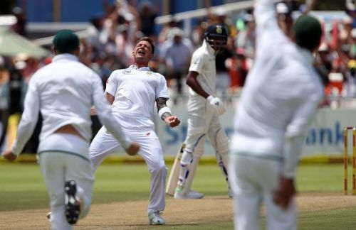 1st Sunfoil Test: South Africa v India, Day 2