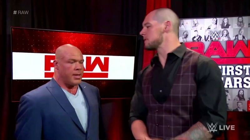 Baron Corbin vs. Kurt Angle for the control of Raw?