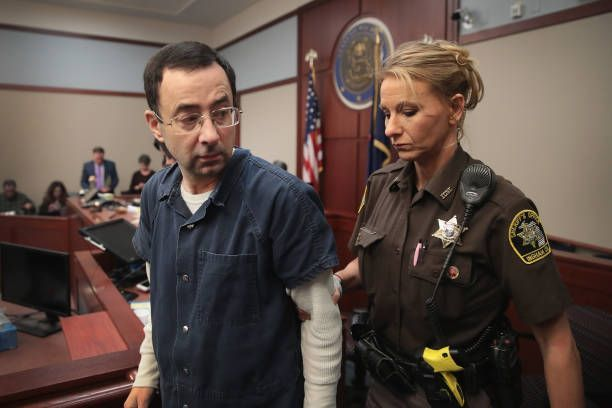 USA Gymnastics Doctor Larry Nassar Sentenced On 7 Charges Of Sexual Assault