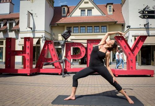 'Artist at work - Transforming Love, Happy and Joy' Art Exhibition in Wertheim Village