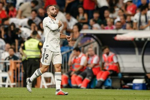 Carvajal was equally impressive in attack and defence for the hosts