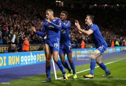Image result for leicester city late goals
