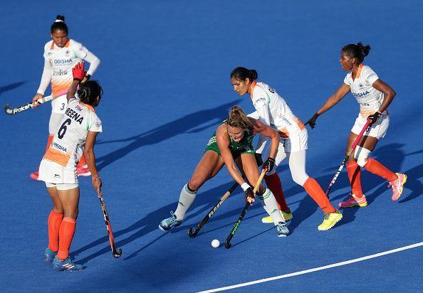 Ireland v India - FIH Womens Hockey World Cup Quarter Final