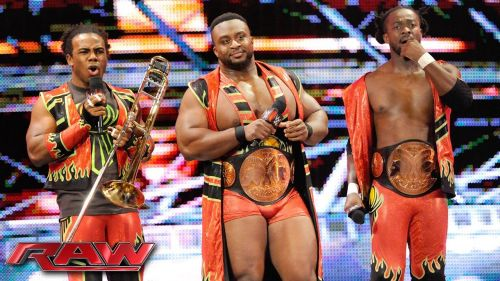 The New Day are the new Tag-Team Champions