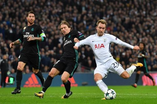 Image result for tottenham champions league