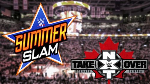SummerSlam stays the same, but TakeOver: Brooklyn becomes TakeOver: Tortonto
