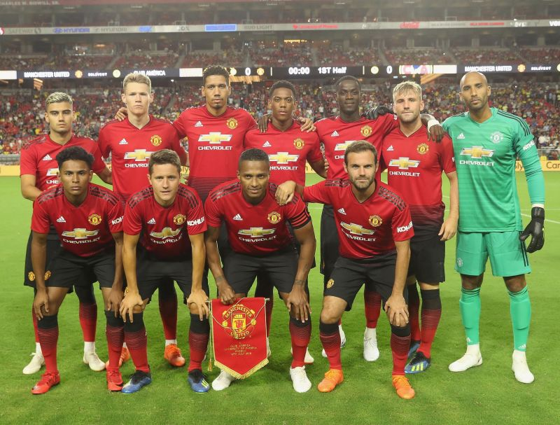 How Manchester United Could Line Up In The 2018/19 Season