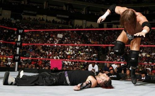 Jeff Hardy narrowly missed out on the Championship win