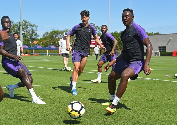 Tottenham Hotspur Pre-Season Training Session