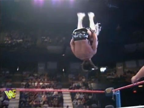 A still of Marc Mero performing the 'Wild Thing'