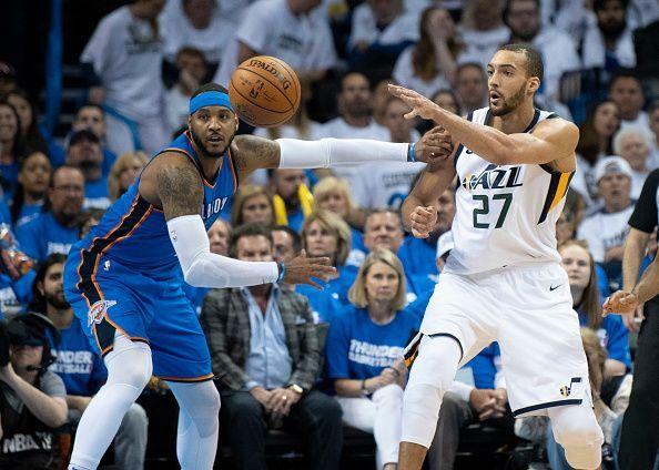 Utah Jazz  v Oklahoma City Thunder - Game Five