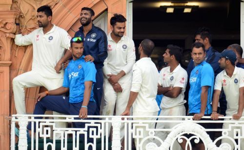 Image result for India lord's victory balcony
