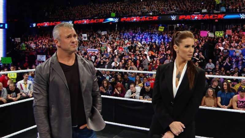 Stephanie and Triple H might have remained in power, but Shane would have a piece of the pie.