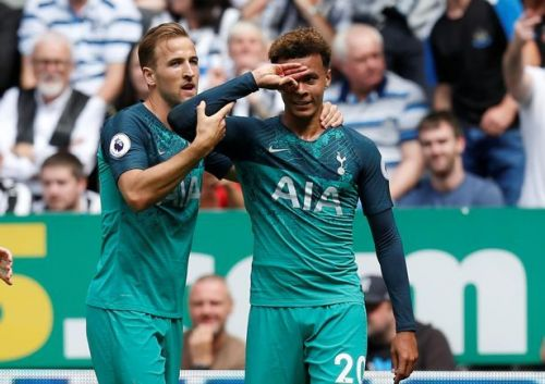 The tale of how Dele introduced yet another of his wacky moves last week
