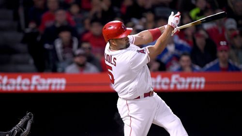 Albert Pujols Angels v Orioles MLB 03052018