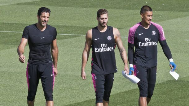 Alphonse Areola has been facing some serious competition from Gigi Buffon and Kevin Trapp