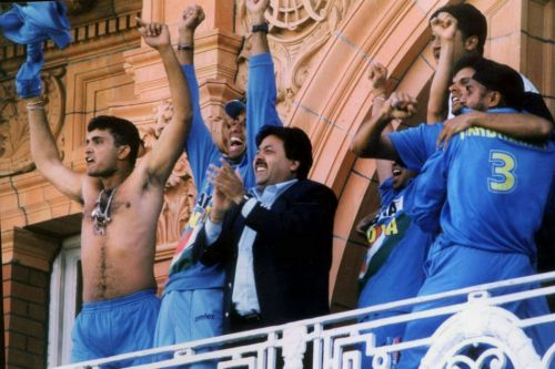 Sourav Ganguly Shirt Wave