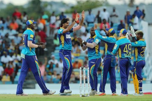 Barbados Tridents v St Kitts and Nevis Patriots - 2018 Hero Caribbean Premier League (CPL) Tournament