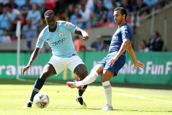 Mendy forced Pedro on the back foot time and again