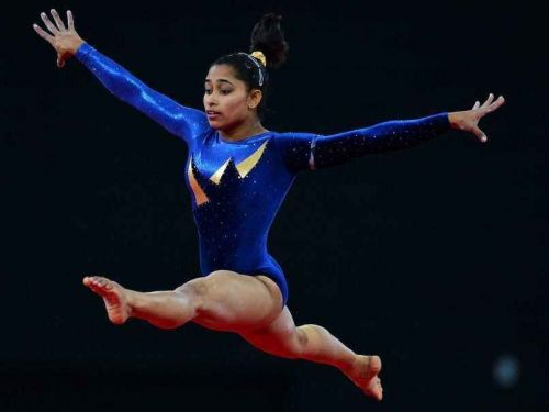 Gymnast Dipa Karmakar, age 25, pulls out from Team event citing knee injury, misses vault finals.
