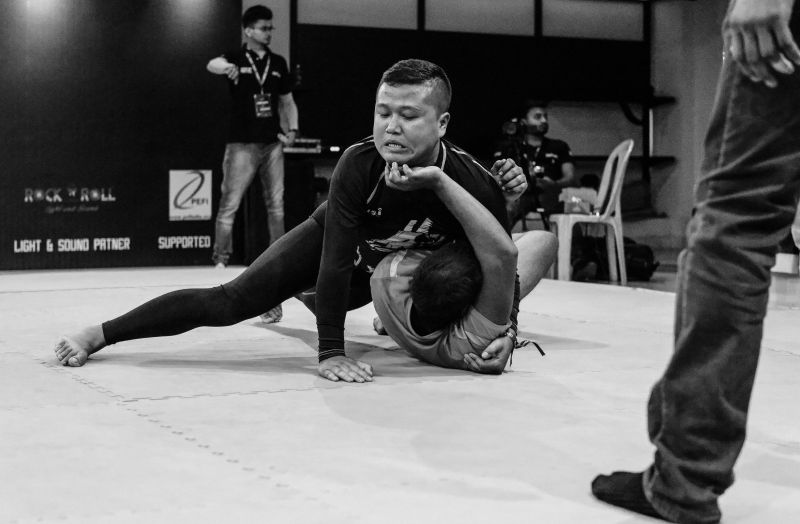 GRIND - The first ever professional grappling (No-Gi