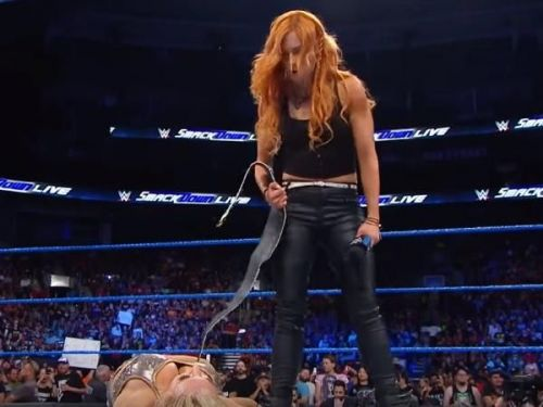 Becky Lynch has righteousness on her side