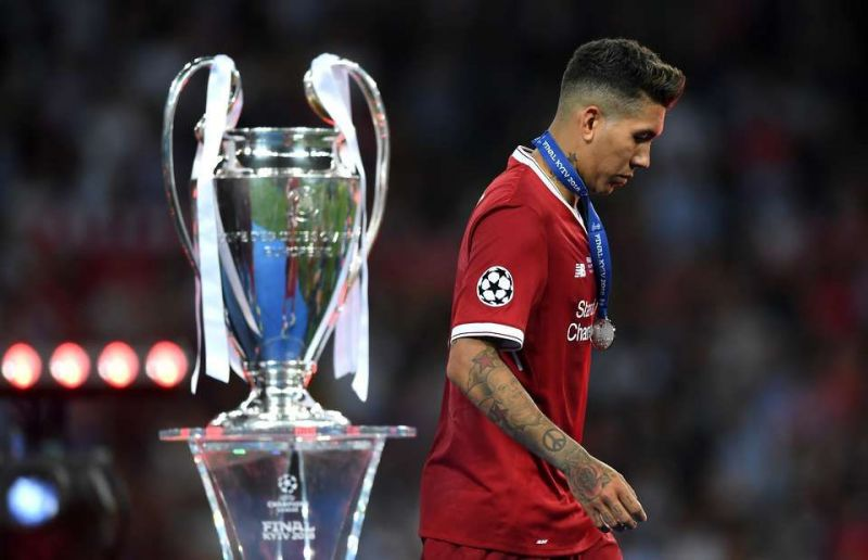 Firmino lost the Champions League Final 2018 to Real Madrid
