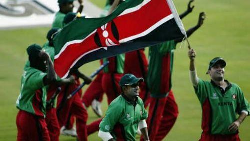 Kenyan Team at the 2003 Cricket World Cup